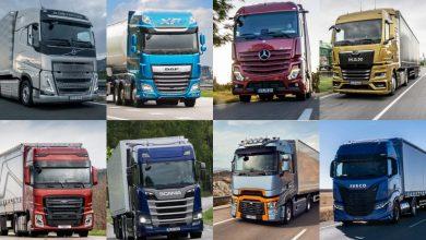 Înmatriculări camioane grele în România: creștere de 11,7% în februarie 2021