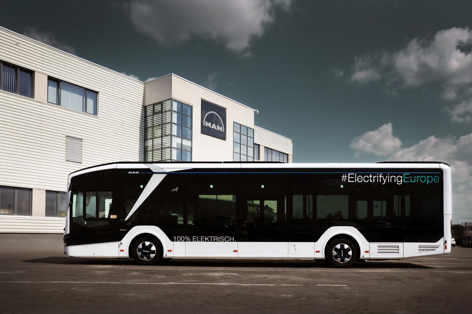 Autobuzul electric MAN Lion's City E a ajuns și în România