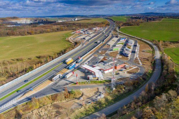 Mai multe locuri de parcare pentru camioane în Cehia
