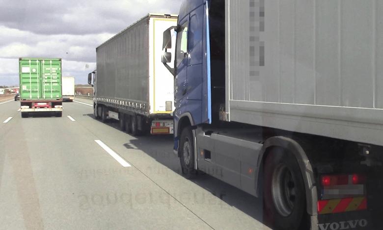 Control pe A1 care a vizat respectarea distanței între vehicule
