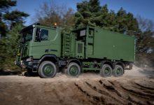 Scania a început să livreze camioane Gryphus pentru armata olandeză
