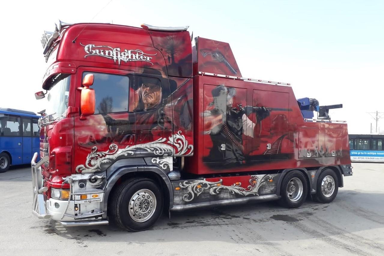Scania Gunfighter