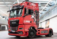 A fost livrat primul camion MAN TGX Individual Lion S