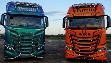 IVECO și Autotrasporti Perrotti prezintă The Queen și The Princess