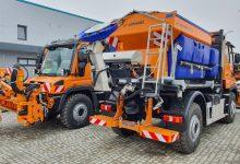 Au fost livrate primele camioane multifuncționale Unimog pentru CNAIR