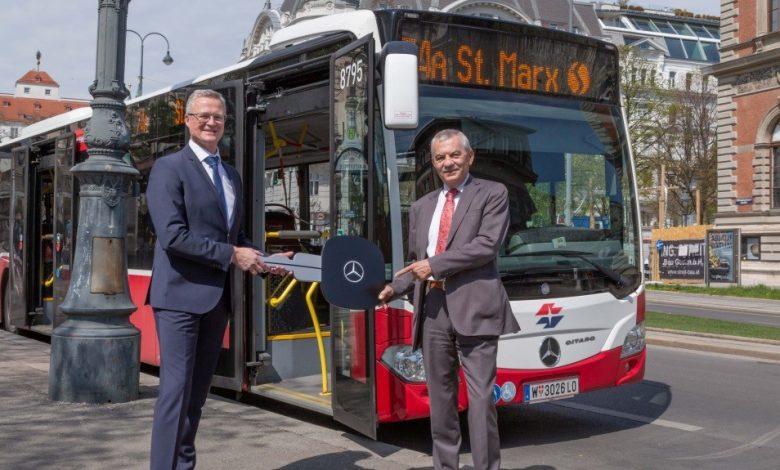 Peste 400 de autobuze Citaro pentru orașul Viena