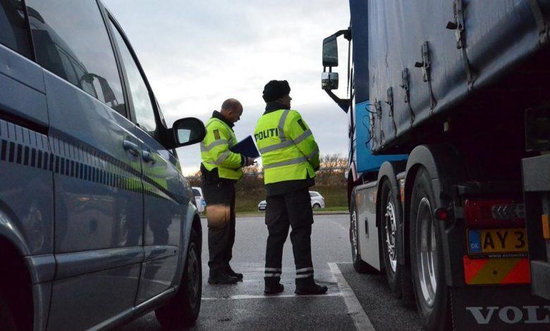 Poliția daneză poate confisca și vinde camioanele conduse de șoferi beți