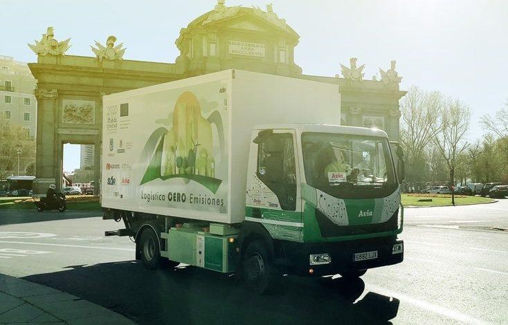 FM Logistic testează primul camion electric fabricat în Spania