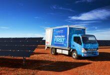 FUSO eCanter va fi comercializat și în Australia