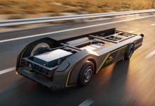 Acesta este șasiul de camion electric pe care se poate monta orice cabină