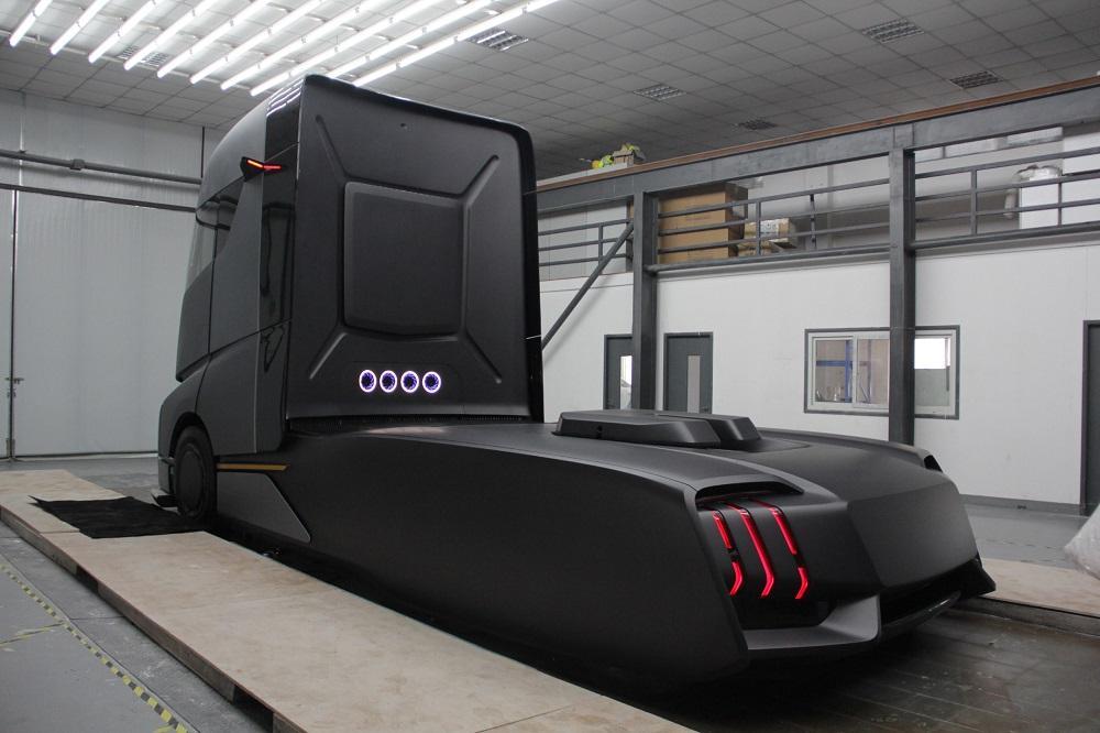 Geely AD21, un nou concurent în lumea camioanelor electrice