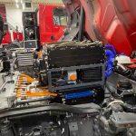 Hyzon camion hidrogen pila de combustie
