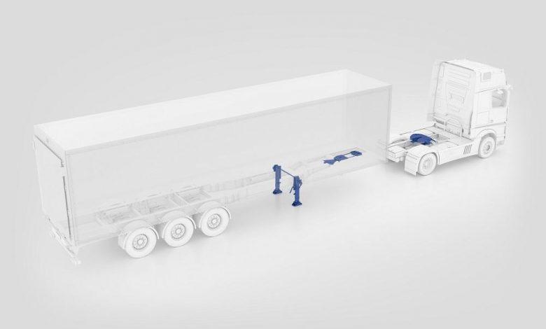 Jost KKS, sistem automat de cuplare și decuplare a semiremorcii (VIDEO)