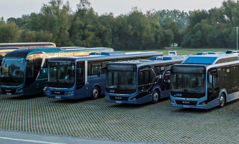 Autobuze noi în 2020 în UE: 72,9% diesel, 9,5% hibride, 6,1% electrice