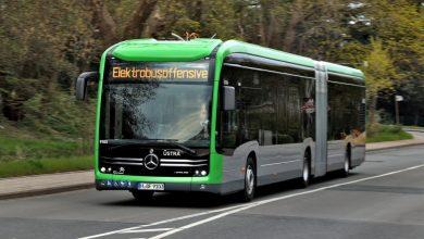Primul autobuz electric eCitaro cu a doua generație de baterii litiu-ion