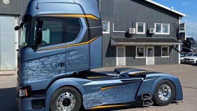 Scania Frostfire, ultima creație a celebrului tuner Svempa