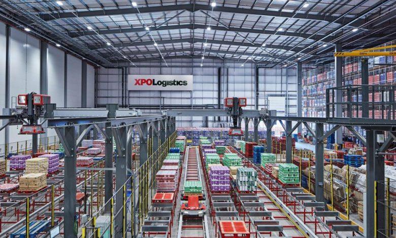 XPO Logistics, depozit de distribuție digital pentru Nestle