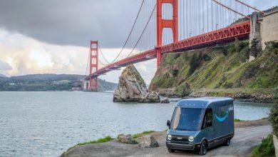 Autoutilitara electrică Rivian testată de Amazon în San Francisco