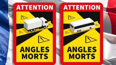Semnalizarea unghiurilor moarte ale camioanelor devine obligatorie în Franța