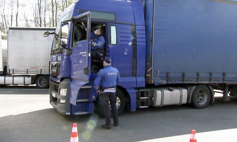 Camioanele, autocarele și autoutilitarele de 3.5 tone controlate, în Belgia