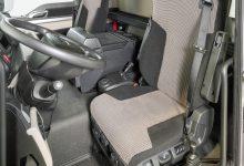 O nouă modă printre șoferii de camion: scaun cu cadrul coborît