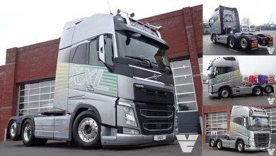 Primul Volvo FH XXL produs în Europa scos la vânzare pentru 124.900 de euro