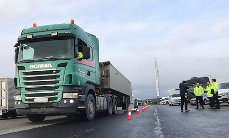 Danemarca crește siguranța inspecțiilor tehnice în trafic a camioanelor