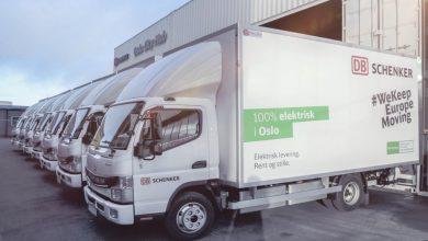 DB Schenker operează cea mai mare flotă de camioane electrice FUSO eCanter