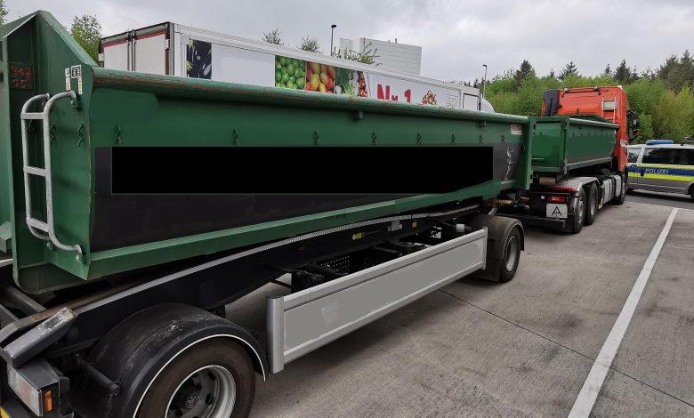 Controale care au vizat camioanele supraîncărcate de pe A7, în Germania