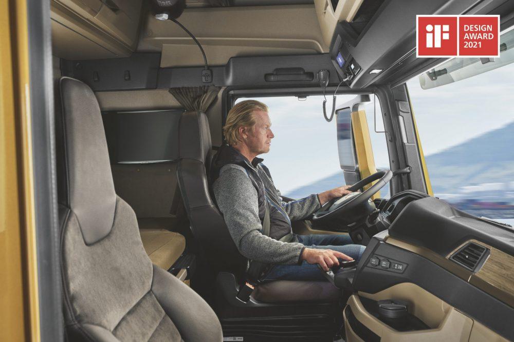 Două premii iF DESIGN pentru noua generație de camioane MAN