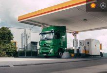 Camioanele Mercedes plătesc automat pentru alimentarea la stațiile Shell