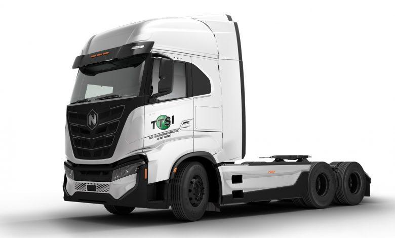 Comandă pentru 100 de camioane electrice Nikola