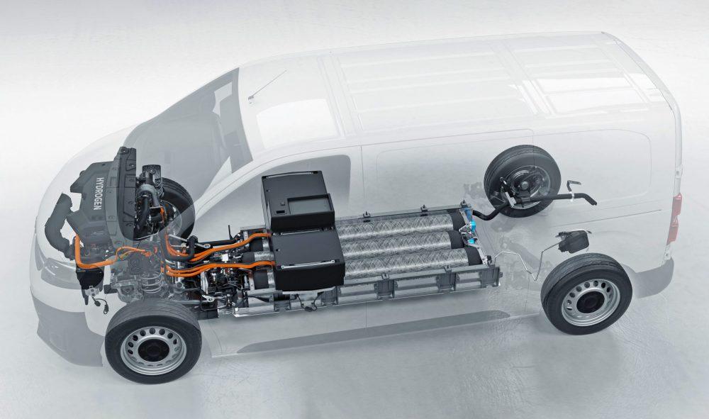 Opel Vivaro-e HYDROGEN: alimentare în 3 minute pentru 400 km autonomie