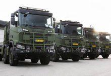 Noile Scania Gryphus prea mari pentru barăcile Armatei Olandeze