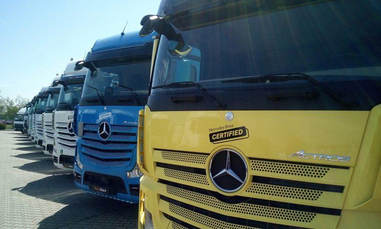TruckStore România introduce gama de camioane rulate Mercedes Certified