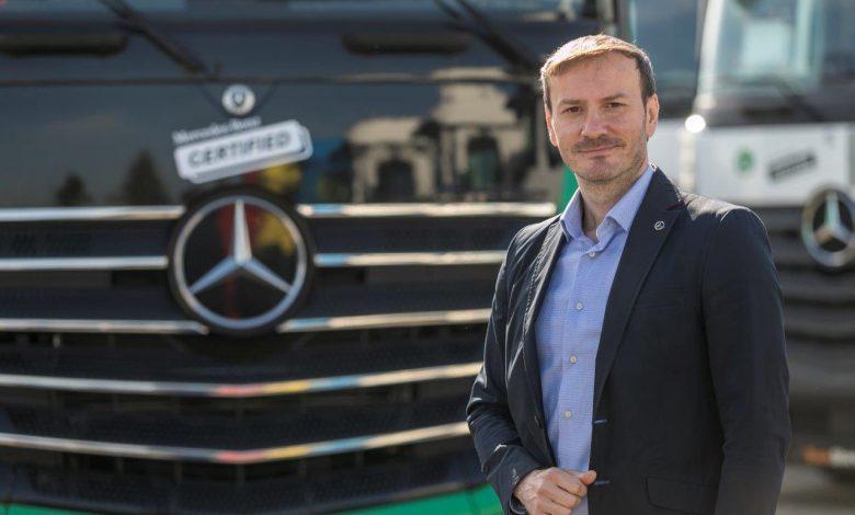 Mercedes-Benz România are noi șefi de vânzări camioane noi și rulate