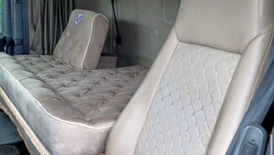 O nouă modă: cabină cu pat dublu în locul scaunului pasagerului