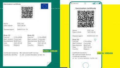 Acord pentru certificatul electronic al UE privind COVID