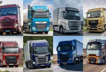 Înmatriculări camioane grele în România: creștere de 209% în aprilie 2021