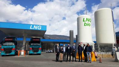 Camioanele cu gaz pot alimenta cu bioLNG în pasul Brenner