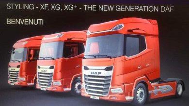 Noul DAF XF ar putea fi, de fapt, XG. Prima imagine cu întreg interiorul