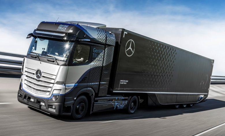 Mercedes începe testele cu primul prototip GenH2 Truck, alimentat cu hidrogen