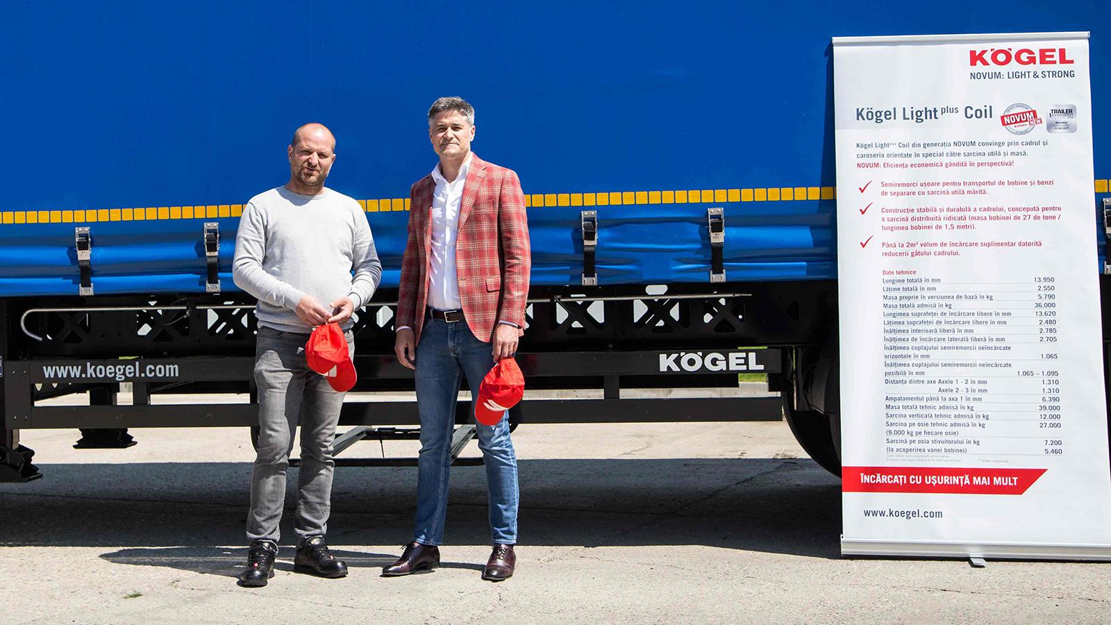 Blue River a achiziționat 30 de remorci Kögel Light Plus