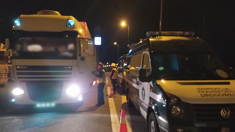 Aproape 200 de camioane controlate de GITD, în Polonia