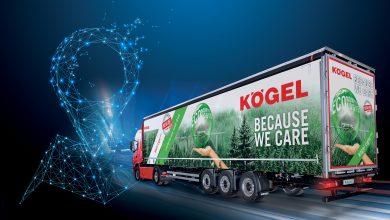Kögel Telematics disponibil în standard pe toate remorcile Kögel