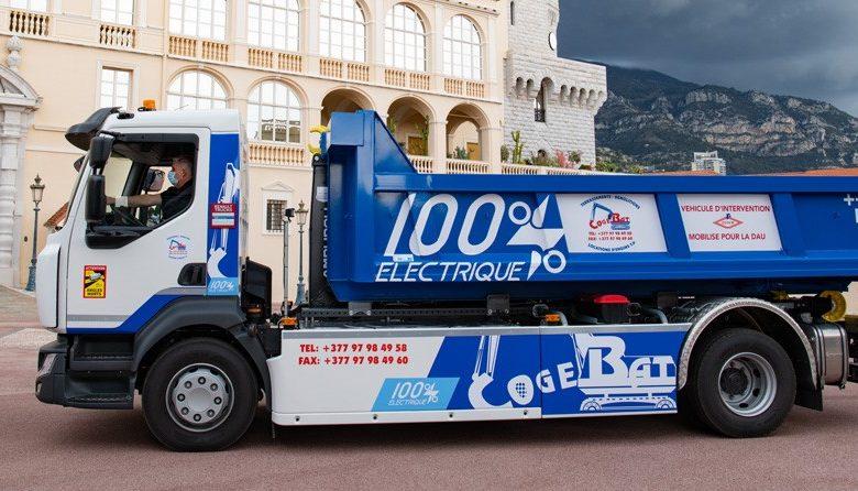 Suprastructură nouă pentru camioanele electrice Renault: lift hidraulic cu cârlig