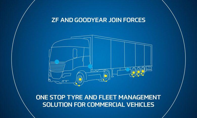 Parteneriat ZF - Goodyear pentru soluții de monitorizare a flotei și anvelopelor
