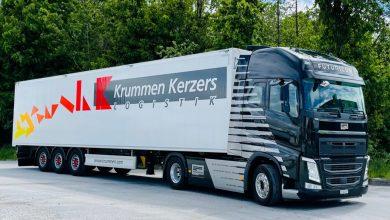 Cap tractor electric cu autonomie de 500 km pentru Krummen Kerzers