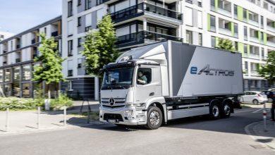 Mercedes eActros de serie va avea o autonomie de până la 400 km