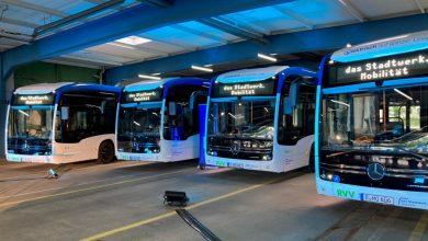 6 autobuze electrice Mercedes eCitaro pentru orașul Regensburg